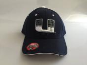 New Utah State Aggies Navy Stretch Flex-Fit Hat M/L