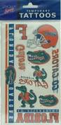 Florida Gators Tattoos Sheet