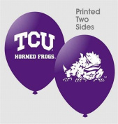 TCU Horned Frogs 28cm Latex Balloons