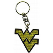 West Virginia University Emblem Keychain