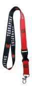 Maryland Terrapins Lanyard NCAA TWO-Tone Breakaway Team Lanyard Keychain ID Badge Holder Necklace