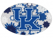 KENTUCKY WILDCATS OVAL FLORAL DESIGN MAGNET-UNIVERSITY OF KENTUCKY MAGNET-NEW FOR 2016