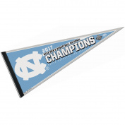 North Carolina Tar Heels 2017 NCAA National Champions Pennant
