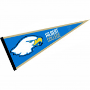 Hilbert College Hawks Pennant