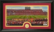 "NCAA Iowa State Cyclones ""Stadium"" Bronze Coin Panoramic Photo Mint, Bronze, 60cm x 38cm x 10cm"