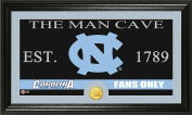 NCAA North Carolina Tar Heels Man Cave Coin Panoramic Photo Mint, 60cm x 38cm x 10cm , Bronze