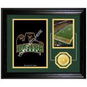NCAA Baylor Bears Fan Memories Coin Desktop Photo Mint, 60cm x 38cm x 10cm , Bronze