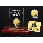 NCAA Baylor Bears Etched Acrylic Coin, 23cm x 18cm x 5.1cm , Gold