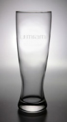 Miami Hurricanes Deep Etched Pilsner B36-6-14