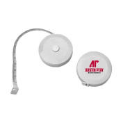 Austin Peay White Round Cloth 150cm Tape Measure 'AP Austin Peay Governors - Official Athletic Logo'