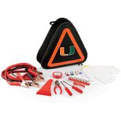 NCAA Miami Hurricanes Roadside Emergency Kit