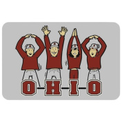 NCAA Ohio State Buckeyes Playing Cards with OH-IO People, One Size,Grey