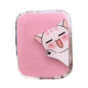 Travel Portable Contact Lens Case Cute Eye Care Container Holder Box #04