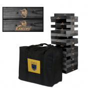 Worcester State University Lancers Wooden Tumble Tower Game