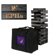 Williams College Ephs Wooden Tumble Tower Game