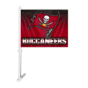 NFL Tampa Bay Buccaneers Car Flag , One Size, Team Colour