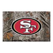FANMATS 18993 Team Colour 48cm x 80cm San Francisco 49ers Scraper Mat