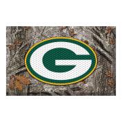 FANMATS 18959 Team Colour 48cm x 80cm Greenbay Packers Scraper Mat