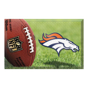 FANMATS 18954 Team Colour 48cm x 80cm Denver Broncos Scraper Mat
