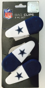 Dallas Cowboys NFL Magnetic Bag Clips [3 Pc. Set]