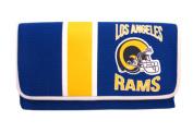 Los Angeles Rams Ladies Mesh Trifold Organiser Clutch Wallet