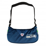 NFL Seattle Seahawks Jersey Team Purse, 12 x 7.6cm x 18cm , Blue