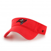 '47 NFL '47 Clean Up Adjustable Visor, One Size, Torch Red