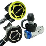 Scuba Choice Diving Dive Palantic AS103 DIN Regulator & Octopus Combo - AS207