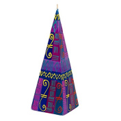 Kapula Pyramid Candle ' Blue Moon New Design ' 7 x 20 cm