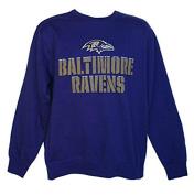 Baltimore Ravens Adult Size 2X-Large 2XL Pullover Sweatshirt - Purple