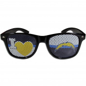NFL San Diego Chargers I Heart Game Day Shades, Black,Adult,Black