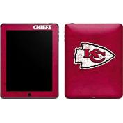 NFL Kansas City Chiefs iPad Skin - Kansas City Chiefs Distressed Vinyl Decal Skin For Your iPad