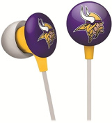 Minnesota Vikings NFL Ihip Earbud Earphones Works With MP3 ipods iphones