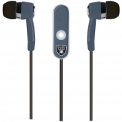 NFL Oakland Raiders Hands Free Ear Buds with Microphone