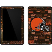 NFL Cleveland Browns Kindle Fire Skin - Cleveland Browns - Blast Vinyl Decal Skin For Your Kindle Fire