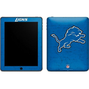 NFL Detroit Lions iPad Skin - Detroit Lions Distressed Vinyl Decal Skin For Your iPad