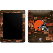 NFL Cleveland Browns iPad Skin - Cleveland Browns - Blast Vinyl Decal Skin For Your iPad
