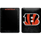 NFL Cincinnati Bengals iPad Skin - Cincinnati Bengals - Distressed Vinyl Decal Skin For Your iPad