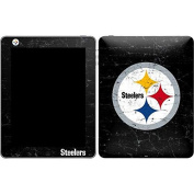 NFL Pittsburgh Steelers iPad Skin - Pittsburgh Steelers Distressed Vinyl Decal Skin For Your iPad