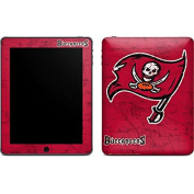 NFL Tampa Bay Buccaneers iPad Skin - Tampa Bay Buccaneers Distressed Vinyl Decal Skin For Your iPad