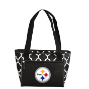 NFL Pittsburgh Steelers 16 Cooler Can Tote, Black, One Size