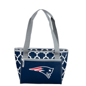 NFL New England Patriots 16 Cooler Can Tote, Navy, One Size