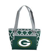 NFL Green Bay Packers 16 Cooler Can Tote, Hunter, One Size