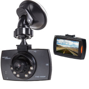 Dash Cam HD 1080P Car DVR Driving Recorder Dashboard Camera with Night Vision G-sensor Motion Detection Parking Monitor Loop Recording 170° Wide Angle