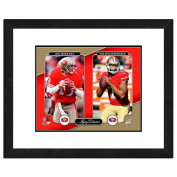 NFL San Francisco 49ers Men's Joe Montana Legacy Collection Framed Photo, One Size