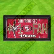 SAN FRANCISCO 49ERS WALL CLOCK - BY TAGZ SPORTS