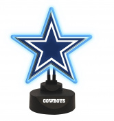 Dallas Cowboys Team Logo Neon Lamp