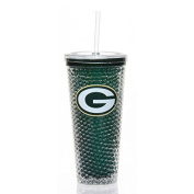 Green Bay Packers 650ml Freezer Sip N Go Tumbler with Straw