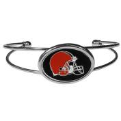 NFL Cleveland Browns Womens Siskiyoucuff Bracelet, Metal, Cuff