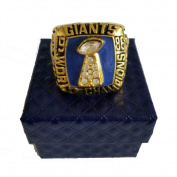 YIYICOOL New York Giant 1986 Super Bowl Championship Rings Size 11 Replica